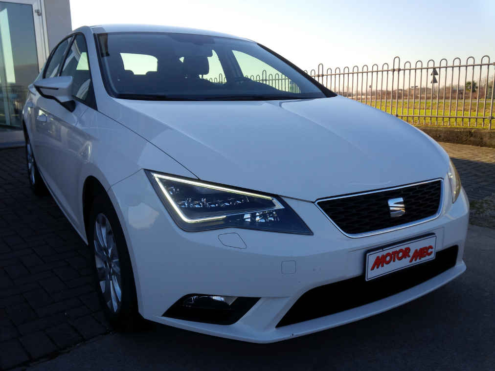 seat leon 1 6 tdi 105 cv style motormec auto veicoli commerciali. Black Bedroom Furniture Sets. Home Design Ideas